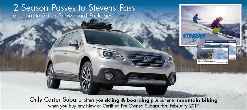2 Season Passes to Stevens Pass